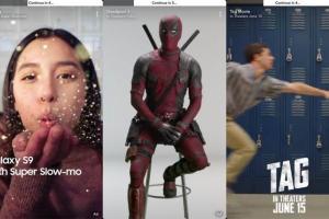 سناب شات تُطلق أول مجموعة إعلانات غير قابلة للتخطي