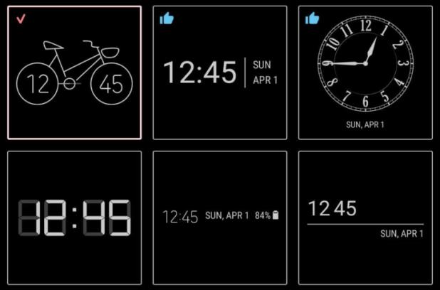 سامسونج تُطلق تطبيقها الجديدClockFace لتغيير نمط الساعة