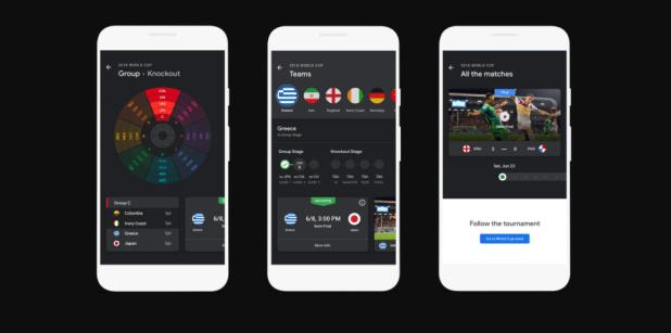 قوقل ستُساعدك في تتبع جميع أحداث كأس العالم 2018