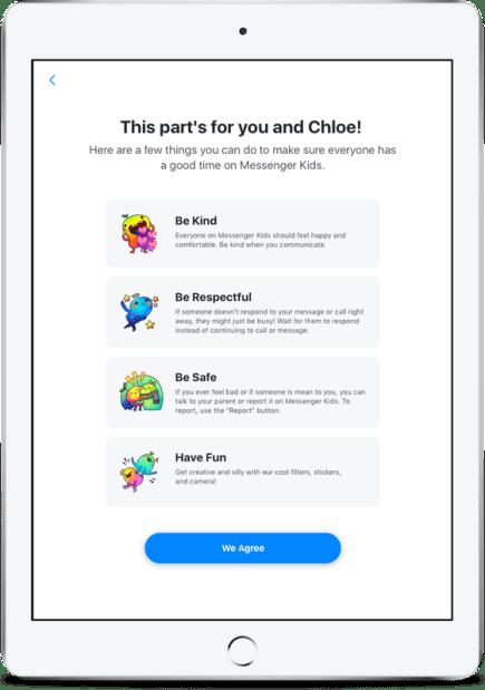 تطبيق ماسنجر للأطفال يحصل على تحديث جديد