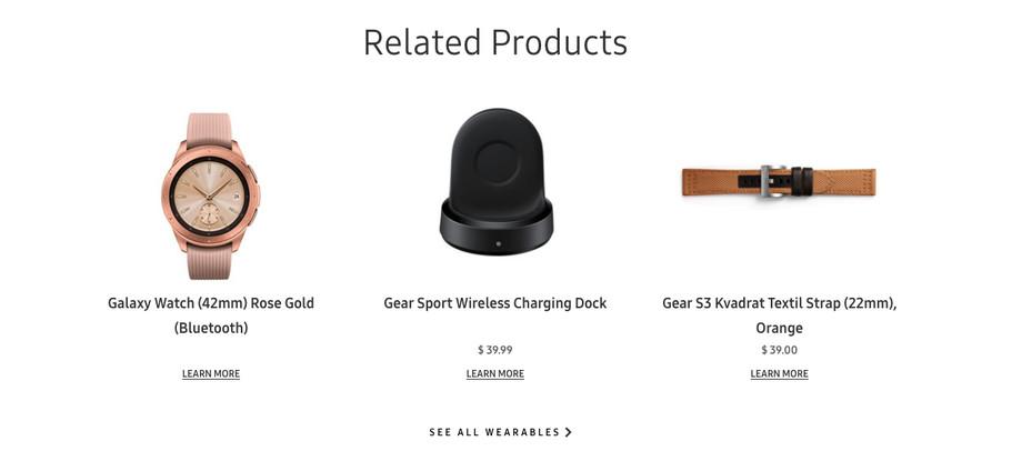 سامسونج تكشف عن صورة ساعتها الجديدة Galaxy Watch بالخطأ