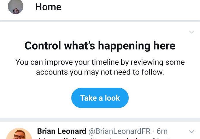 تويتر تختبر قائمة إلغاء المتابعة للأشخاص الذين لا تتواصل معهم باستمرار