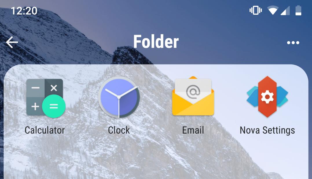 بعد مدة من عدم تحديثه تطبيق نوفا لانشر يأتي بتحديث مليء بالمزايا الجديدة