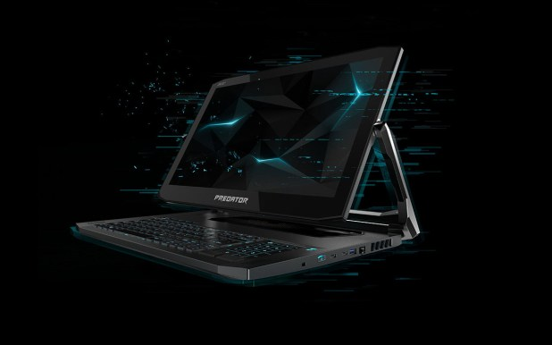 آيسر تكشف لابتوب الألعاب Predator Triton 900 بشاشة لمس قابلة للحركة