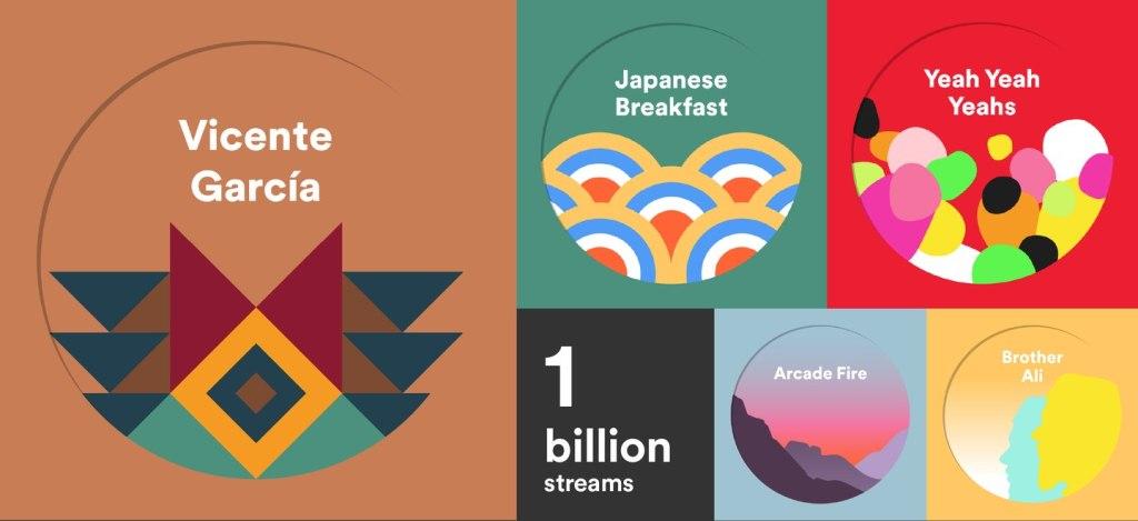 عدد مرات تشغيل Spotify Singles يتجاوز المليار