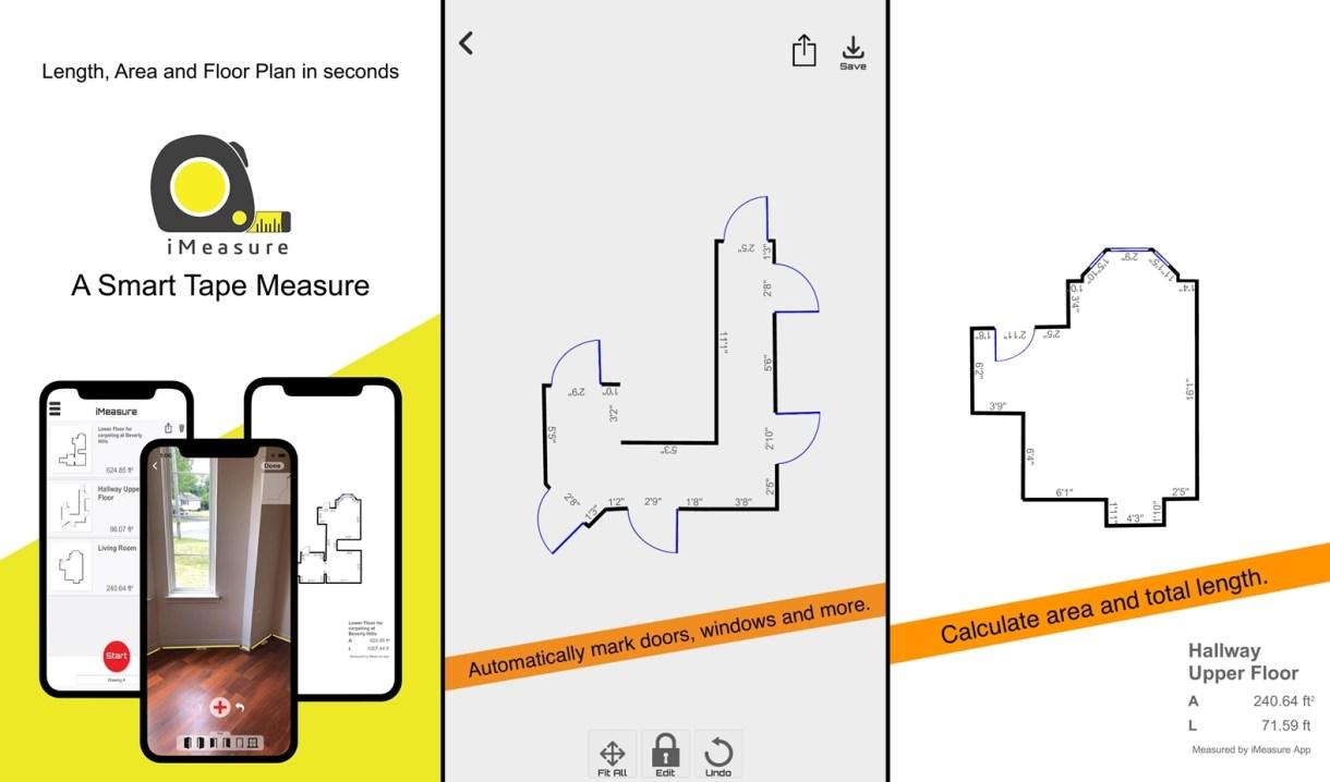 تطبيقiMeasure يحوّل هاتفك الآيفون إلى أداة قياس ذكية