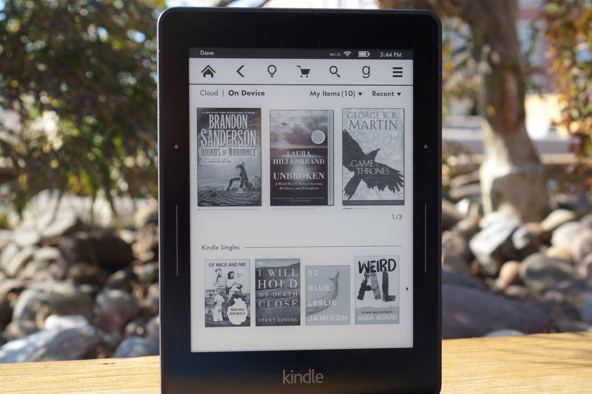 أمازون تستغني عن خدمات كتابها الالكتروني Kindle Voyage