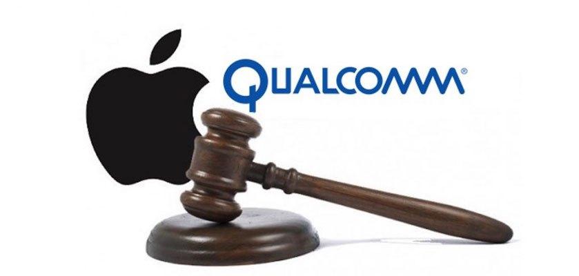 كوالكوم تتهم شركة آبل بسرقة تقنية مودمها ومنحها لمنافسها إنتل