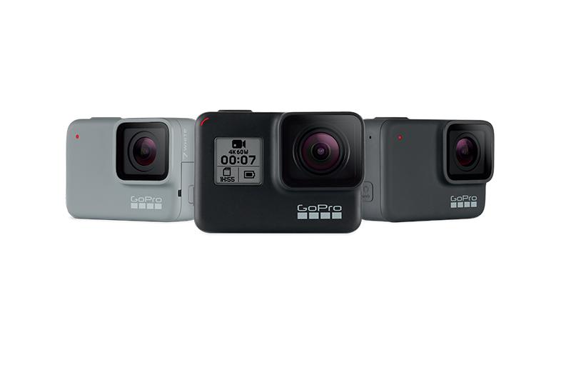GoPro تكشف النقاب عن سلسلة Hero7 بثلاث كاميرات جديدة