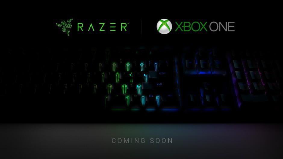 مايكروسوفت تكشف عن لوحة مفاتيح وفأرة من Razer لجهاز Xbox One