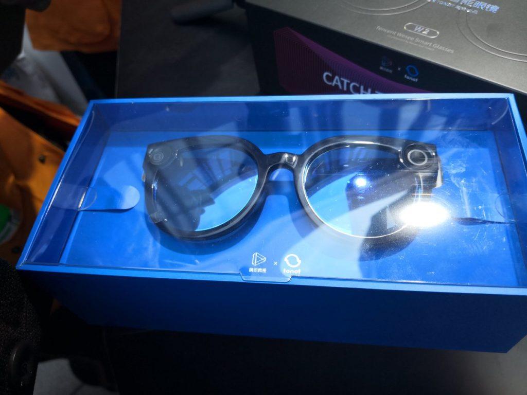Tencent الصينية تكشف عن نظارة شبيهة بنظارة سناب شات Spectacles  - Weishi