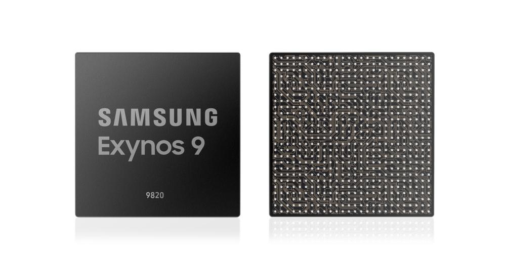 معالج سامسونج Exynos 9820 يحمل 2.0 جيجابايت LTE ووحدة معالجة عصبية