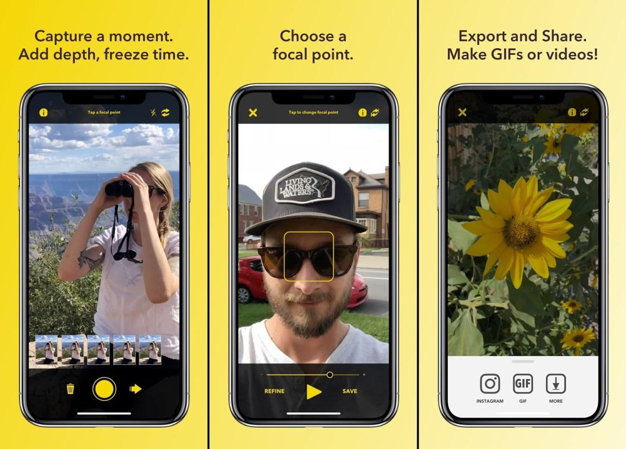 تطبيقFourEyes الجديد لإنشاءصور ثلاثية الأبعاد على iOS