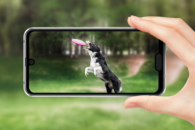 شارب تعلن عن هاتفها Aquos R2 Compact بنتوء للكاميرا ونتوء لزر الشاشة