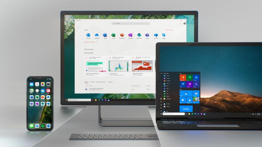 بعد إعادة تصميم شاملة لأيقونات أوفيس؛ مايكروسوفت تستعد للمثل مع ويندوز 10