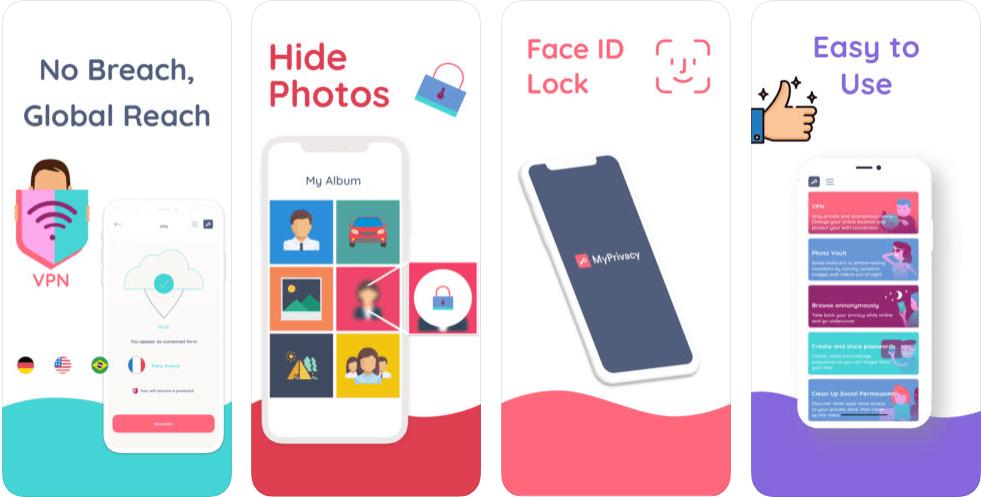 تطبيق MyPrivacy يوفر جميع طرق الحماية في مكانٍ واحد