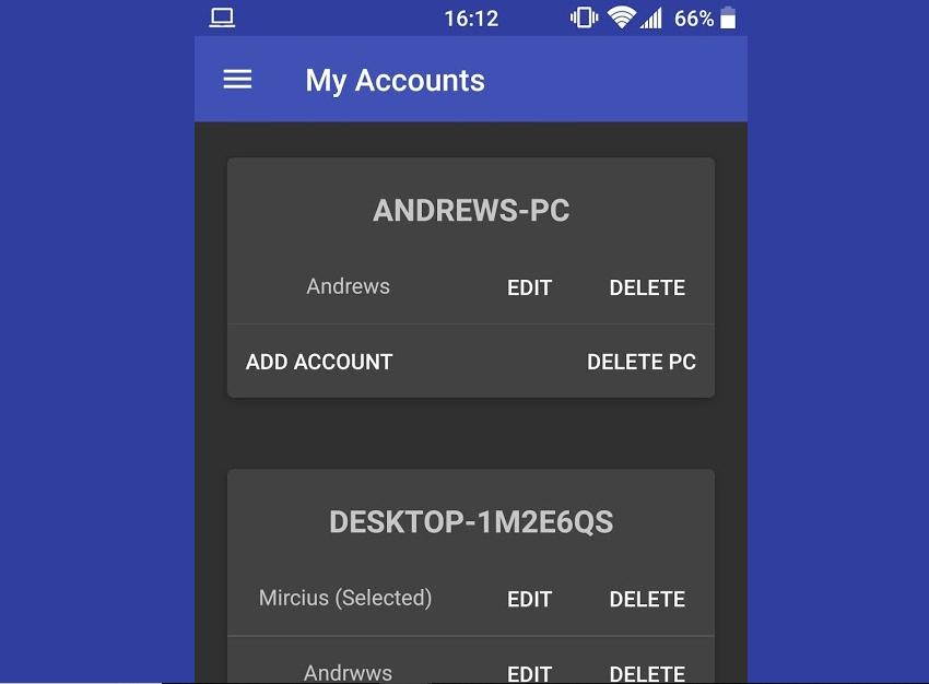 تطبيقRemote Fingerprint Unlock الجديد لإلغاء قفل حاسوبك عبر بصمة هاتفك الأندرويد