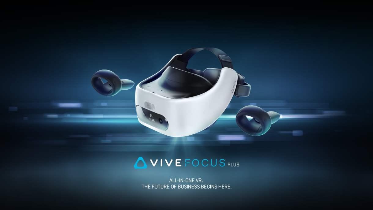 إتش تي سي تعلن عن نظارة الوقع الافتراضي المحدثة Vive Focus Plus