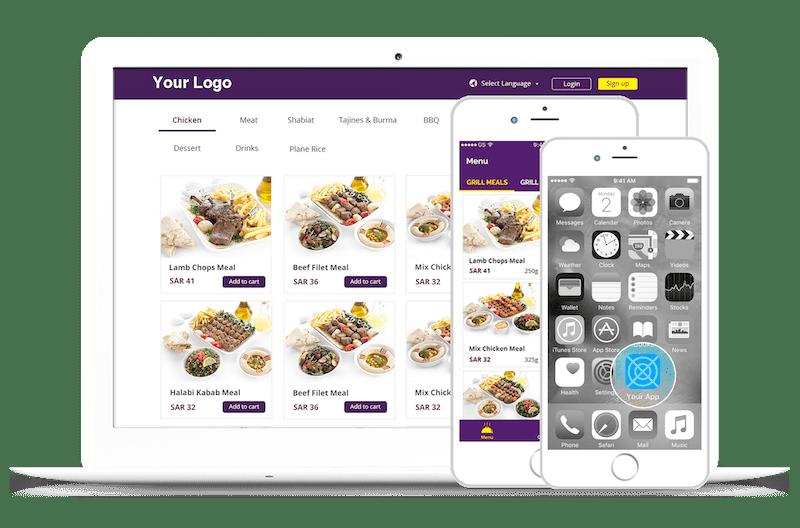 """""""تيكر"""" نظام لتمكين المطاعم من الحصول على موقع وتطبيق خاص بهم لاستقبال الطلبات"""