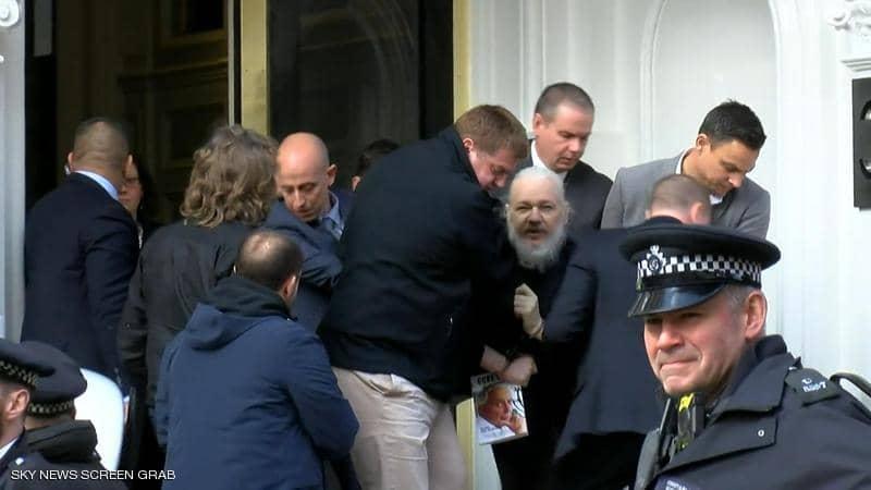 اعتقال جوليان أسانج مؤسس ويكيليكس 1-1243248.jpg?resize