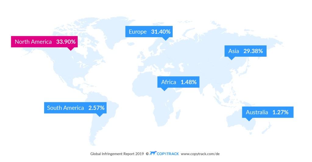 تقرير: ثلاثة مليارات صورة تتم مشاركتها عبر الانترنت يوميا و85٪ منها مقرصنة