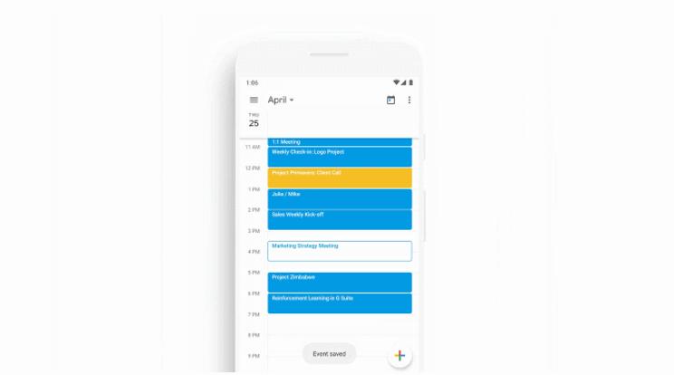 قوقل تُبسّط عملية إنشاء الأحداث في تطبيقها التقويم على أندرويد