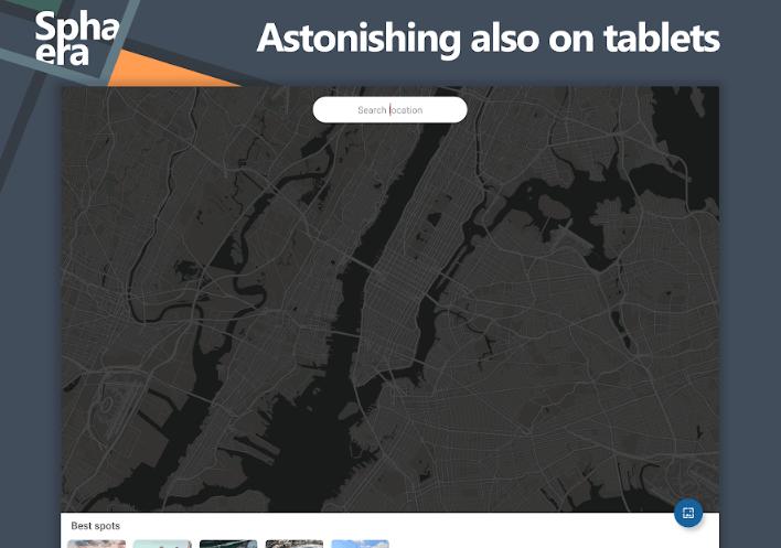 جديد التطبيقات: Sphaera لتخصيص هاتفك بصورة لخريطة موقعك الحالي وأكثر