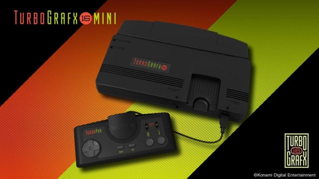 كونامي تعيد TurboGrafx-16 إلى الواجهة مع نسخة مصغرة وبألعاب كلاسيكية