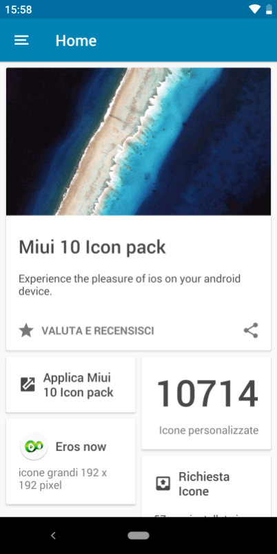 The MIUI10Pixel application offers over 10,000 symbols inspired by Google Pixel and MIUI 10