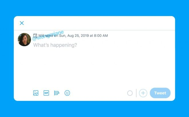 تويتر تختبر ميزة جدولة التغريدات على نسخة الويب