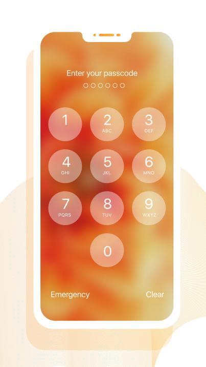IOS12 Lock Screen