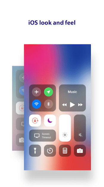 أندرويد - Notification Center iOS 12‏