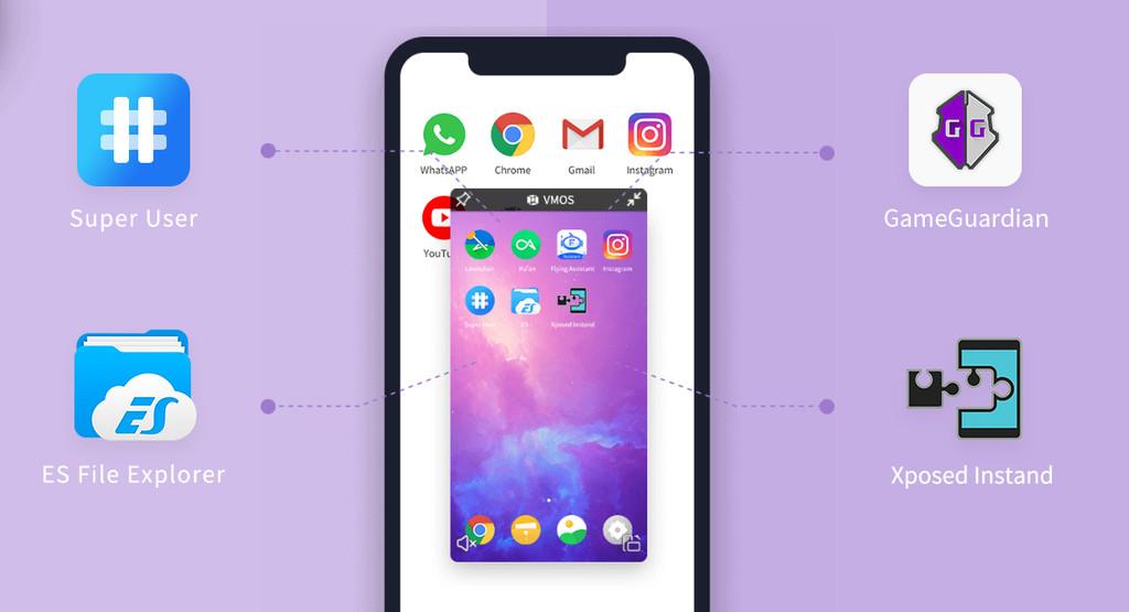 مع تطبيق VMOS احصل على نظام أندرويد مستقل آخر على هاتفك الذكي