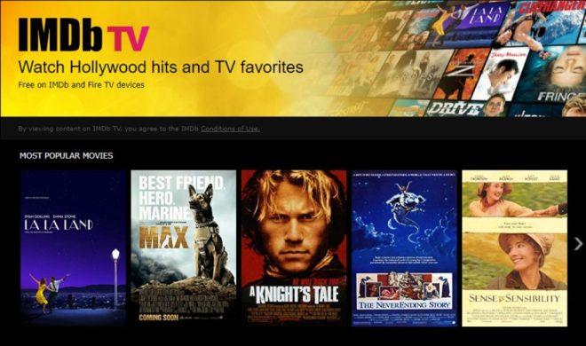 منصة IMDb تتيح مئات الأفلام بشكل مجاني وتدعمها بالإعلانات
