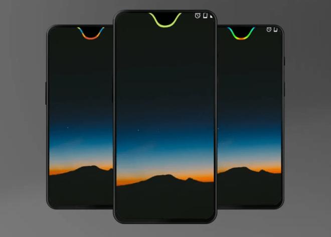 جديد التطبيقات على أندرويد: Energy Notch لإظهار مستوى البطارية مع حد شق الشاشة