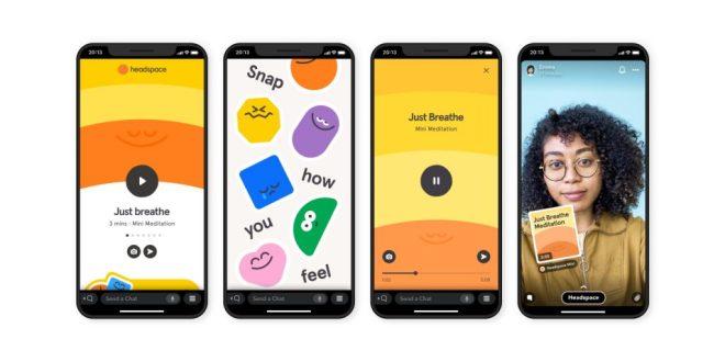 سناب شات تطلق أول تطبيقاتها المصغرة - Snap Minis