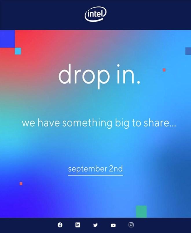 """إنتل تعلن عن حدث افتراضي في 2 سبتمبر للكشف عن """" شي كبير """""""