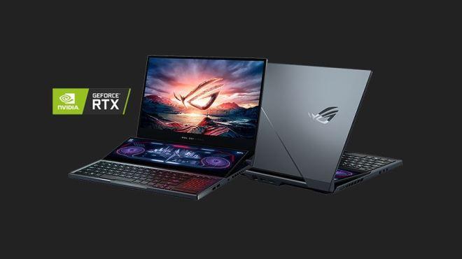 حاسوب أسوس المحمول ROG Zephyrus Duo 15 GX500 وحش الألعاب الأنيق