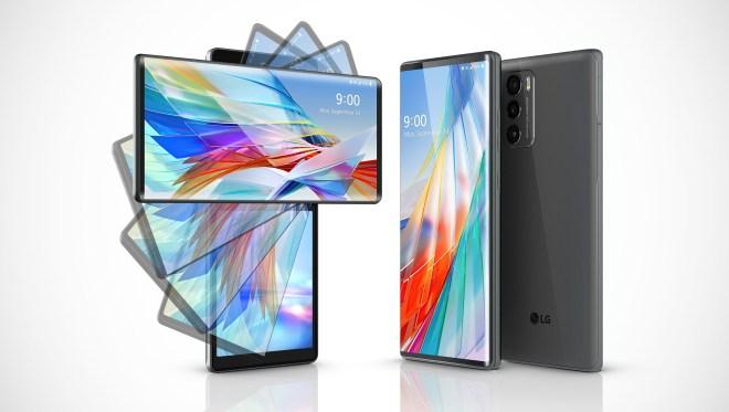 إل جي تكشف عن هاتفها مزودج الشاشة LG Wing بسعر 1000 دولار أمريكي