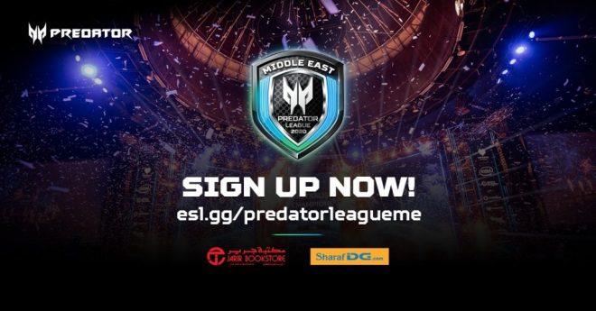 آيسر تطلق بطولة Predator League عبر الإنترنت في لعبة Counter Strike: Global Offensive في الشرق الأوسط بالتعاون مع ESL