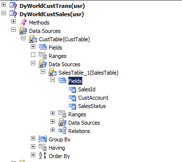 Exploring Drill-down SSRS Reports in Dynamics Ax 2012 R3