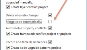 Table in which Update check list placed in Dynamics Ax 2012