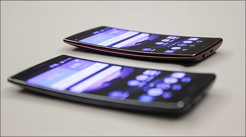 lg curved phone