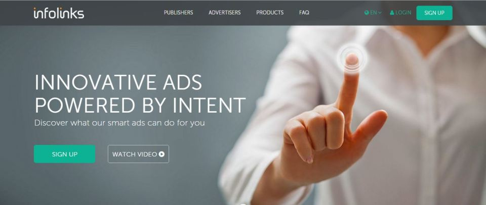 best ad networks infolinks