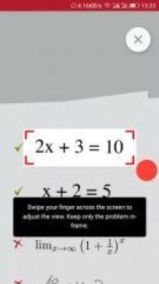 photomath camera calculator scan