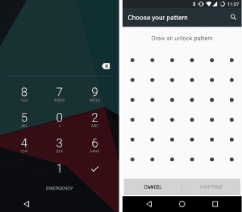 CyanogenModStockAndroid-Lockscreen