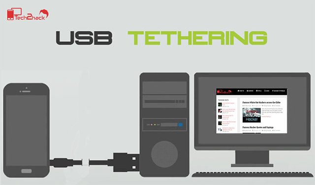 android as modem-usb tethering