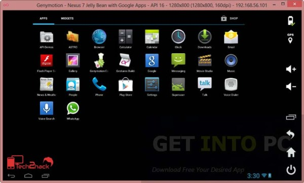 best android emulator for PC genymotion