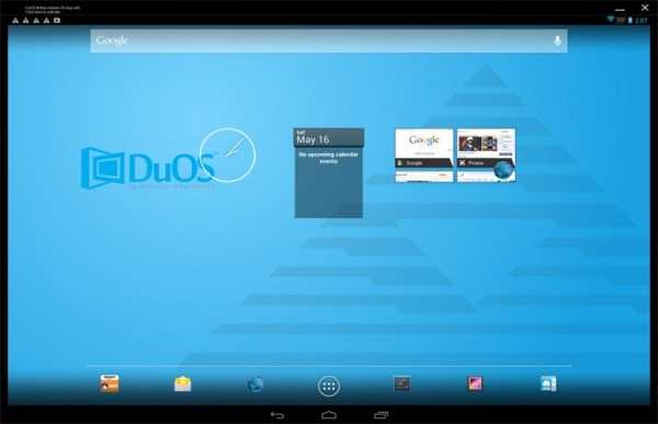AMIDuOS- best android emulator for pc to run android apps on pc
