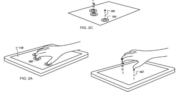 Nieuw patent van Apple beschrijft het werken met 3D objecten 01
